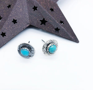Turquoise Stud Earrings - Sublime Clothing Boutique