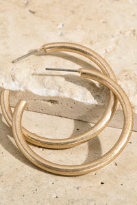Everyday Chic Hoop Earrings - Sublime Clothing Boutique