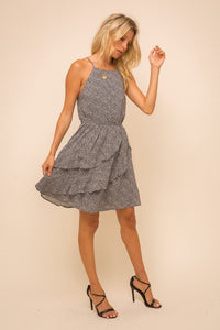 Shania Ruffle Dress