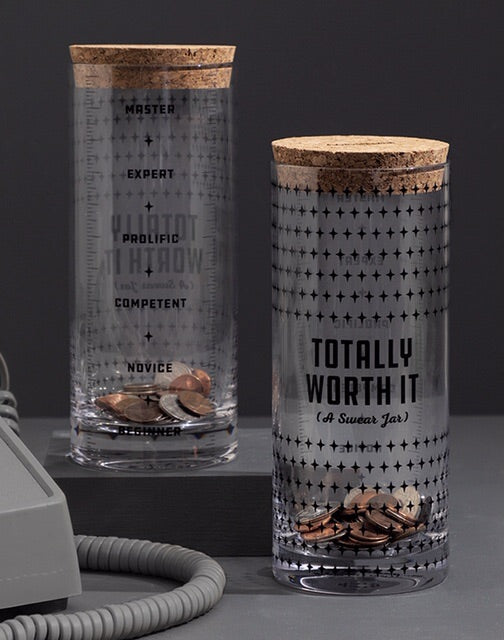 """Totally Worth It"" Swear Jar - Sublime Clothing Boutique"