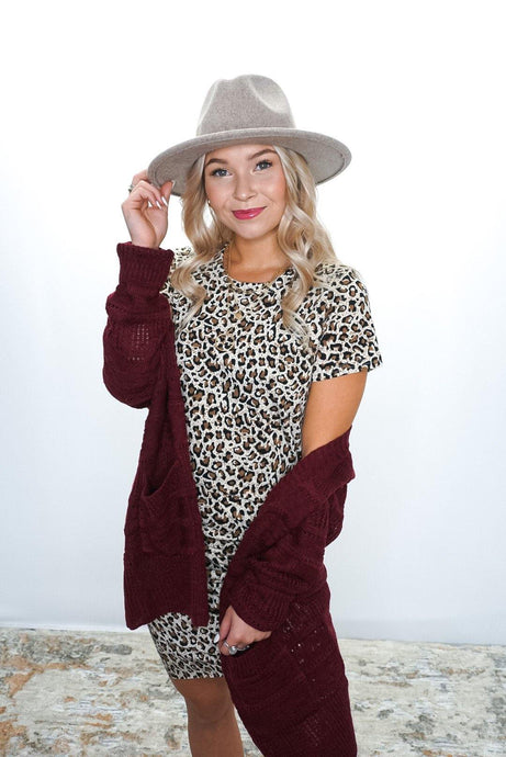 Wild Side Leopard Dress - Sublime Clothing Boutique