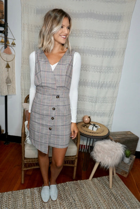Elle Plaid Dress