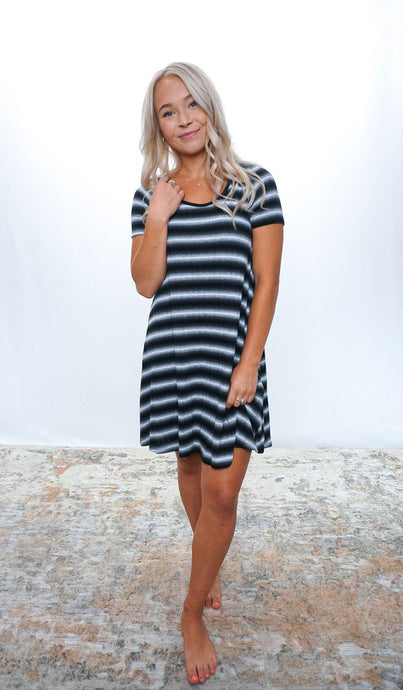Starting Line Stripe Dress - Sublime Clothing Boutique