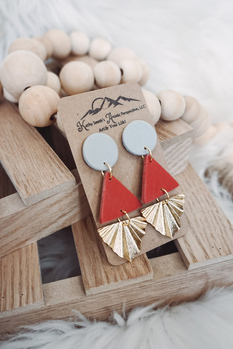 Paradise Nights Clay Earrings