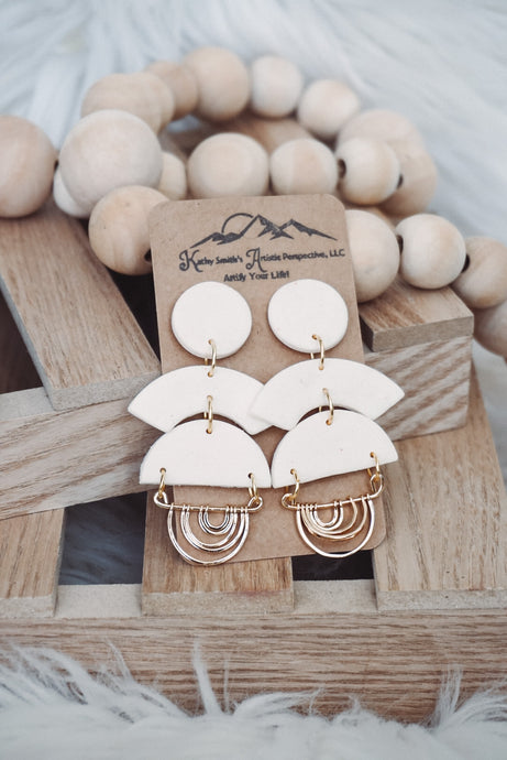 Summer Sleek Clay Earrings