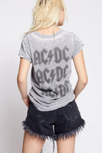 Load image into Gallery viewer, AC/DC Distressed Bolt Tee