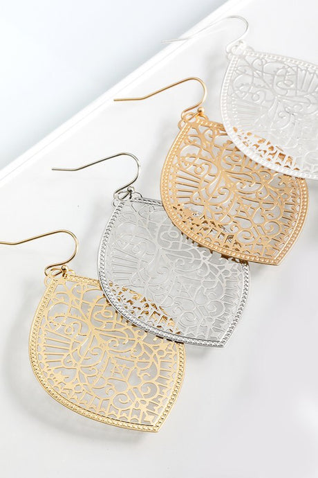 Marquee Shaped Earring - Sublime Clothing Boutique