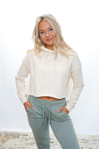 Val Cropped Hoodie - Sublime Clothing Boutique