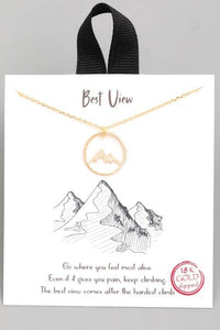 Best View Necklace - Sublime Clothing Boutique
