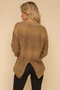 Evergreen Ombré Sweater - Sublime Clothing Boutique