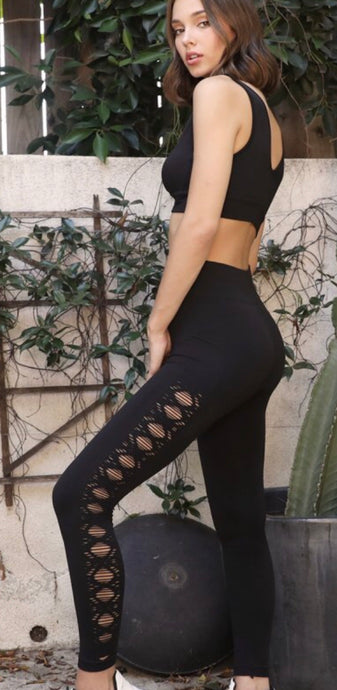 Samantha Pointelle Legging