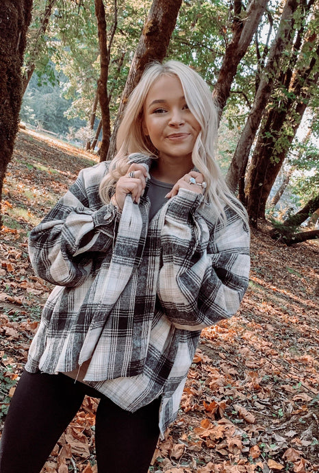 Fireside Flannel Jacket - Sublime Clothing Boutique