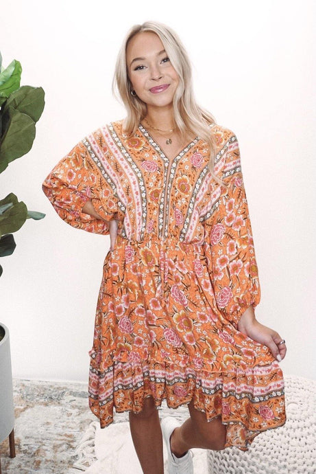 Cheerful Mood Boho Dress