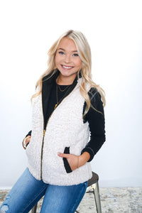 Weather or Not Puffer Vest - Sublime Clothing Boutique