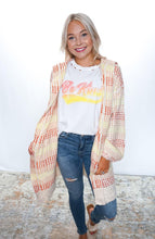 Load image into Gallery viewer, Just Beachy Hoodie Cardigan - Sublime Clothing Boutique