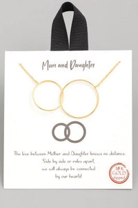 Mom & Daughter Necklace - Sublime Clothing Boutique