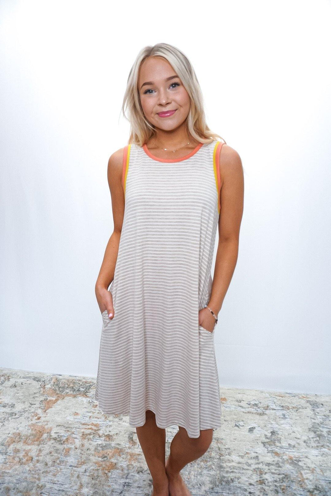Albany A Line Dress - Sublime Clothing Boutique