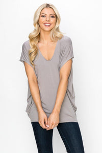 Leila Short Sleeve Dolman - Sublime Clothing Boutique