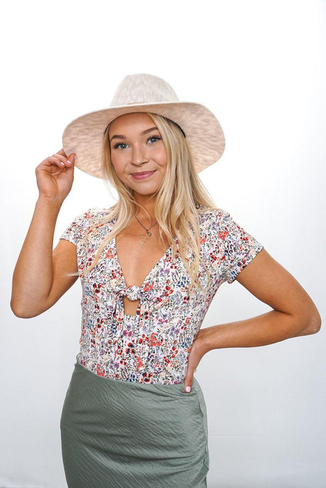 April Floral Top - Sublime Clothing Boutique