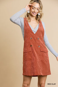 Kaia Corduroy Dress