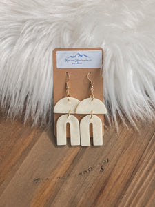 Chic Factor Clay Earrings - Sublime Clothing Boutique