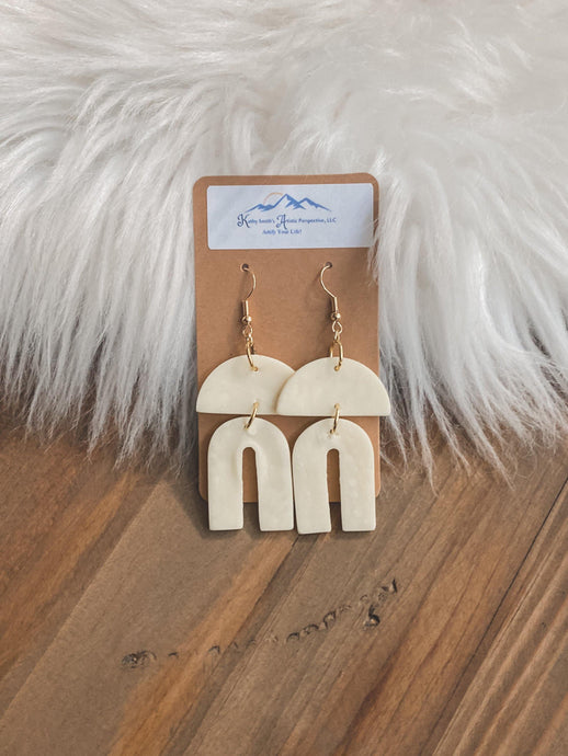 Chic Factor Clay Earrings
