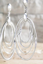 Load image into Gallery viewer, Layered Metals Dangle Earrings - Sublime Clothing Boutique