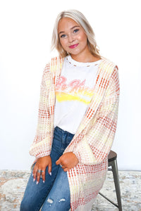 Just Beachy Hoodie Cardigan - Sublime Clothing Boutique