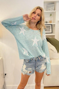 She's A Star Pullover Sweater - Sublime Clothing Boutique