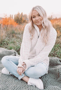 Cuddly Cutie Sherpa Pullover - Sublime Clothing Boutique