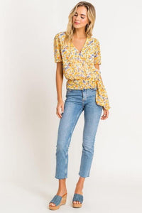 French Floral Blouse - Sublime Clothing Boutique