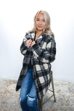 Load image into Gallery viewer, Love You Sheerly Plaid coat