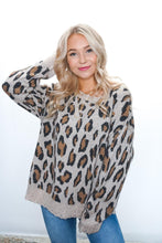 Load image into Gallery viewer, Roam Free Leopard Sweater - Sublime Clothing Boutique