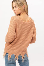Load image into Gallery viewer, Esme Distressed Sweater
