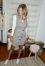 Load image into Gallery viewer, Elle Plaid Dress - Sublime Clothing Boutique
