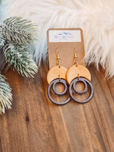 Load image into Gallery viewer, Inner Circle Clay Earrings