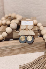 Load image into Gallery viewer, Neutral Boho Clay Earrings