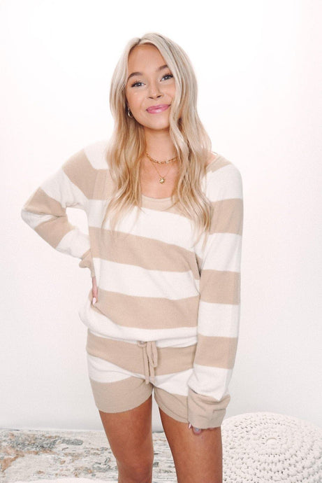 Lyra Stripe Sweater