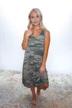 Load image into Gallery viewer, Camo Reverie Dress - Sublime Clothing Boutique