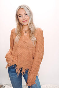 Esme Distressed Sweater
