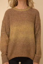 Load image into Gallery viewer, Evergreen Ombré Sweater - Sublime Clothing Boutique