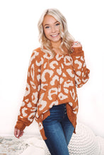 Load image into Gallery viewer, Fierce Desires Leopard Sweater