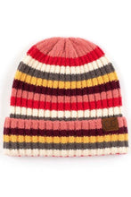 Load image into Gallery viewer, CC Stripe Beanie