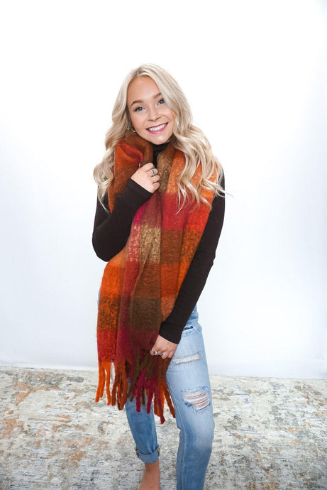 Cozy Central Scarf - Sublime Clothing Boutique