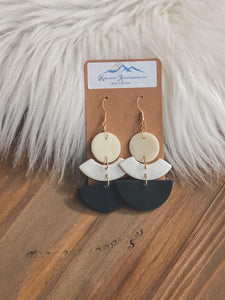 Style Up Clay Earrings - Sublime Clothing Boutique