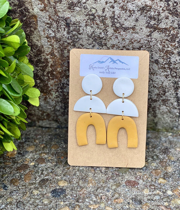 Seeking Sunshine Clay Earring
