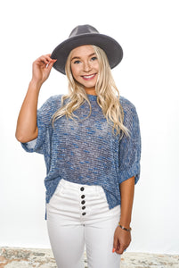 Maisy Rolled Sleeve Blouse