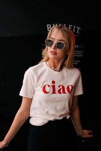 Ciao Graphic Tee - Sublime Clothing Boutique
