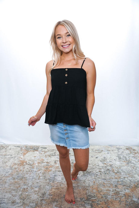 On the Air Tiered Tank - Sublime Clothing Boutique