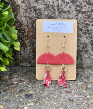 Load image into Gallery viewer, Bandana Me Knot Clay Earring - Sublime Clothing Boutique